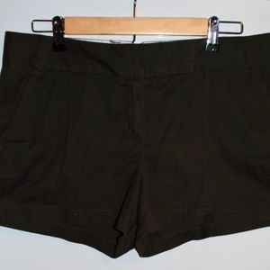 Dark Brown J. Crew Chino Shorts